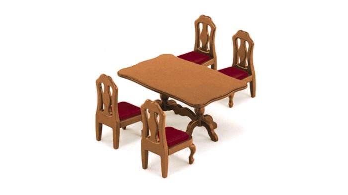 harga Sylvanian Families Original Epoch Japan 401 - Dining Table Set Tokopedia.com
