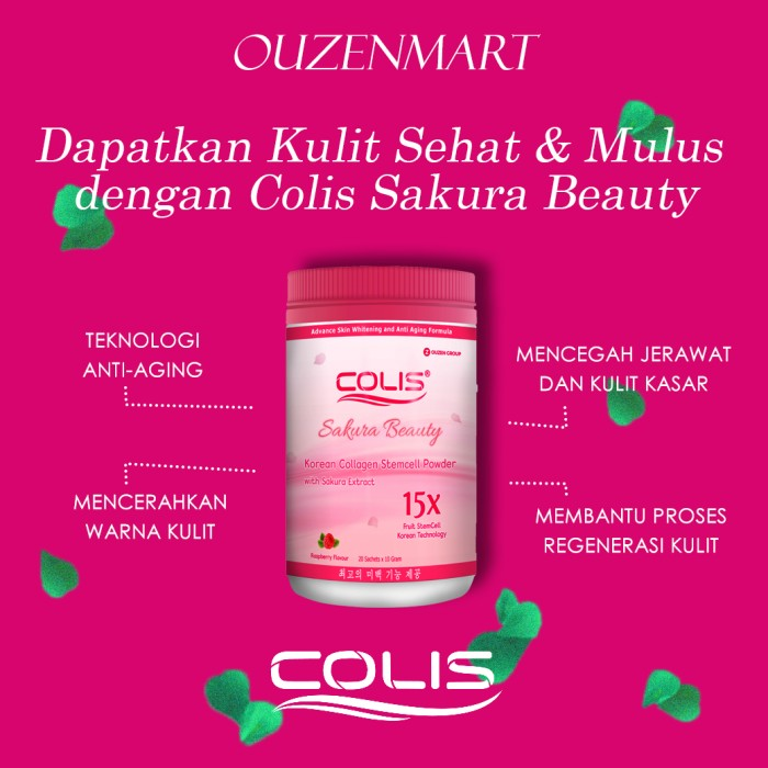 harga Colis / aura white / whitening / k colly / collagen Tokopedia.com