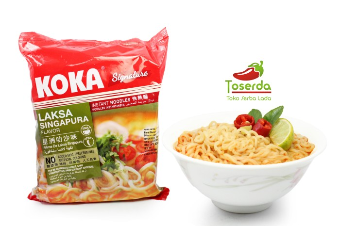 harga Paket 3pcs mie instan koka rasa laksa singapore Tokopedia.com