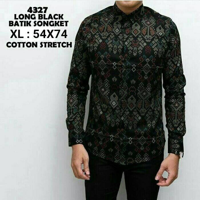Batik Pria Casual: Jual Baju Kemeja Batik Lengan Panjang