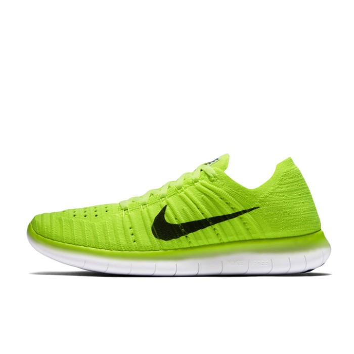 5345f55a9f24 Jual Sepatu Lari Wanita Nike Free RN Flyknit Green Original 842546 ...