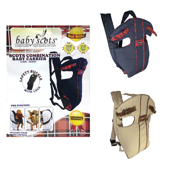 Jual Lynx Gendongan Bayi Baby Scots - Scots Combination Baby Carrier ... 800d04e2c8