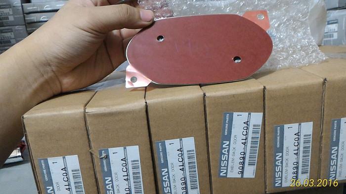 harga [nissan ap] emblem bagasi / back door datsun go 90890-4lc0a Tokopedia.com