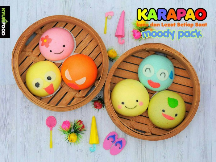 KARAPAO MOODY Pack isi 6 Balikpapan