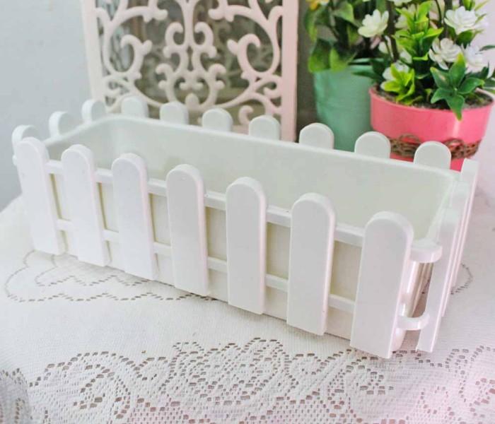harga Pot bunga pagar plastik / vas plastic fence flower panjang kecil Tokopedia.com