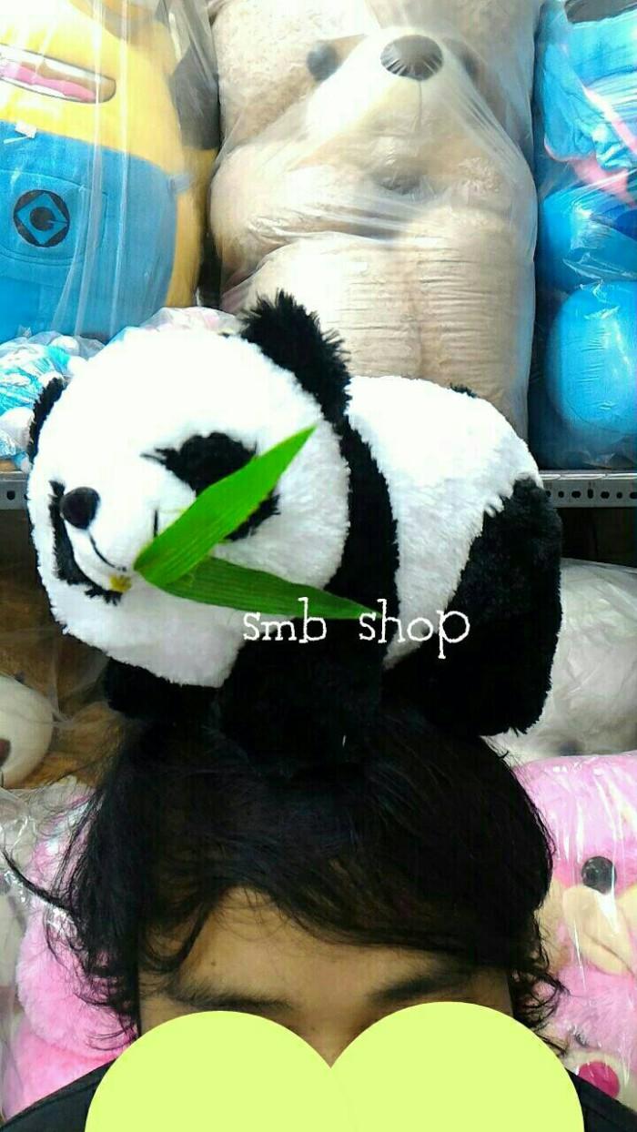 Jual Boneka Anak panda gigit daun bambu sedang merangkak lucuu ... db5360c53d
