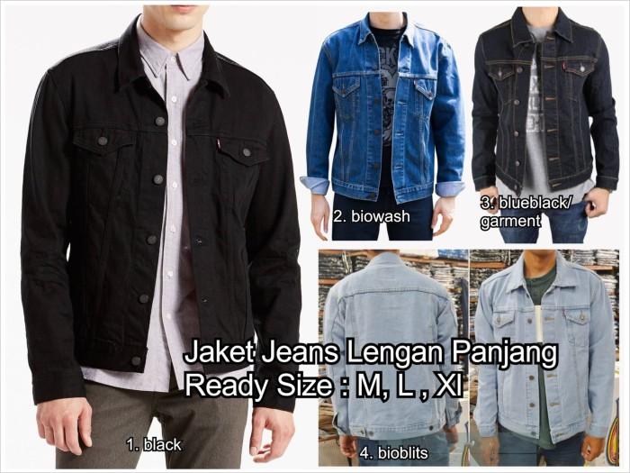 Foto Produk jaket jeans cowo cowok pria man model levis tebal denim jean oke punya dari AREA 27