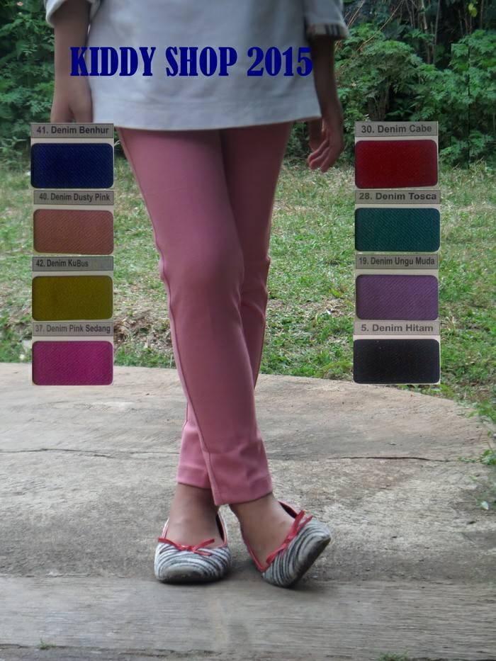 ... Kopi Original Source · celana panjang legging denim zetha anak S M