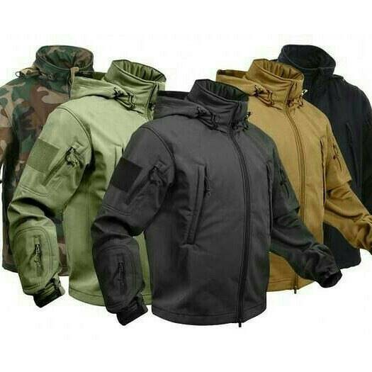 Jaket tad tactical / jaket lapangan outdoor camping hiking aorsoft