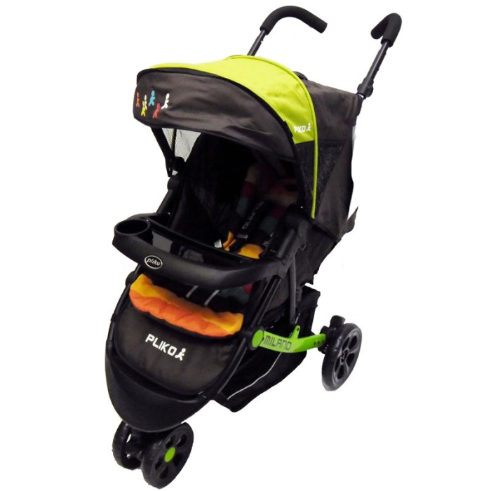 harga Kereta dorong bayi stroller pliko 568 milano green Tokopedia.com