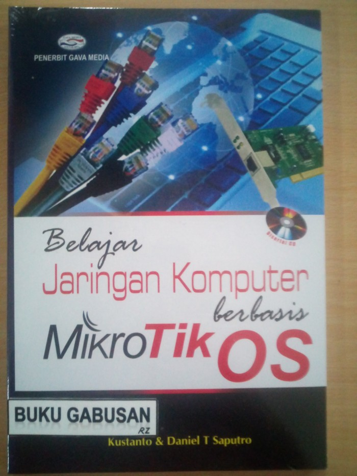 harga Buku belajar jaringan komputer berbasis mikrotik os +cd /gava media rz Tokopedia.com