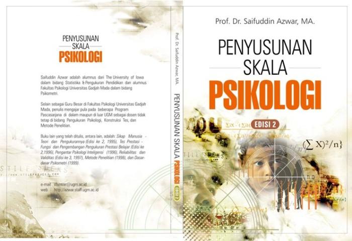 harga Penyusunan skala psikologi/syaifuddin azwar/pustaka pelajar Tokopedia.com