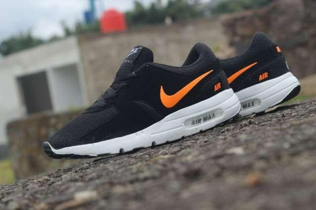e3afd9d55011 ... wholesale sepatu pria nike airmax zero made in vietnam 39 44 black  orange a3b7e a1f92