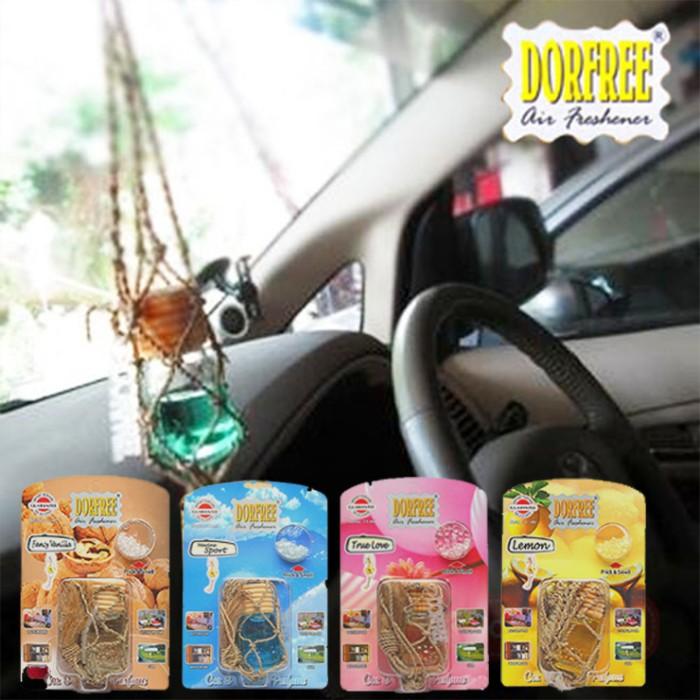 Parfum Pengharum Aksesoris Mobil / Ruangan Dorfree Botol Harga Grosir