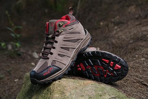 harga Sepatu hiking/gunung outdoor snta 492 brown red semi waterproof Tokopedia.com