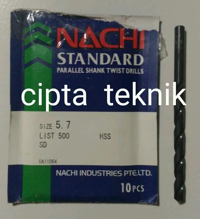 harga Mata Bor Nachi 5,7mm Tokopedia.com