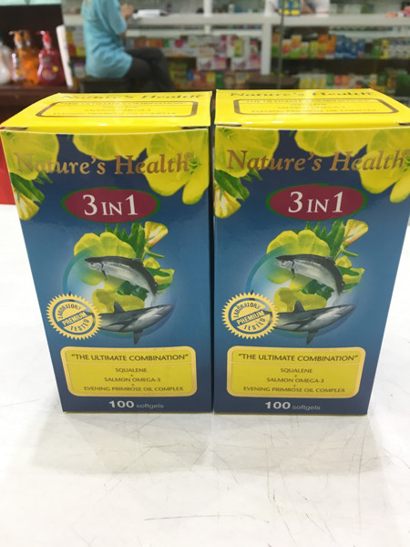 harga Omega 3in1 nature health isi 100 Tokopedia.com