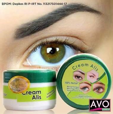 Foto Produk Cream alis Original / Penumbuh/Penyubur alis berkhasiat dari AVO Grosir