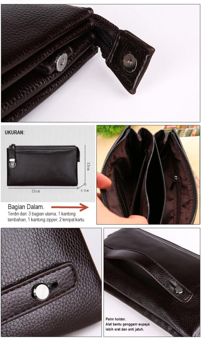 Jual HB1168 Handbag Tas Tangan Pria Wanita POLO Dompet Tangan Clutch ... ef80e35af439b