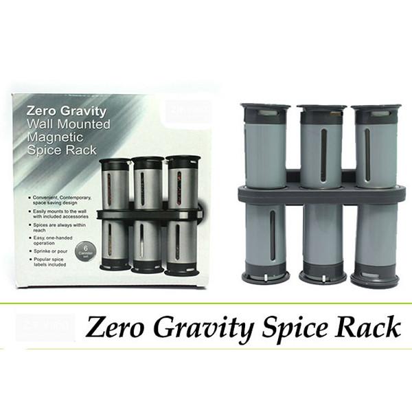 ZERO GRAVITY SPICE RACK - RAK BUMBU ISI 6 PCS