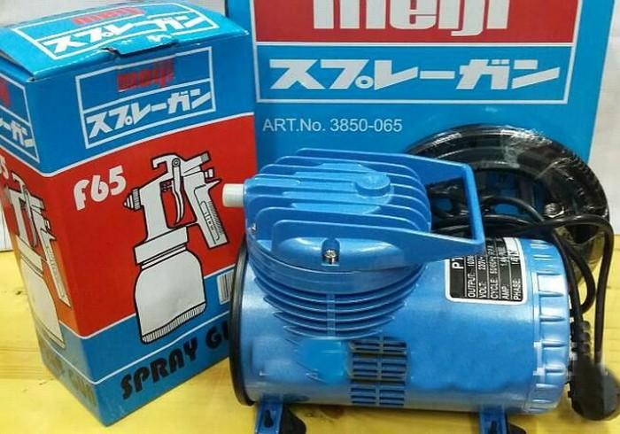 harga Meiji Kompresor Cat Mini Listrik PT-888 - Bonus Spray Gun dan selang Tokopedia.com