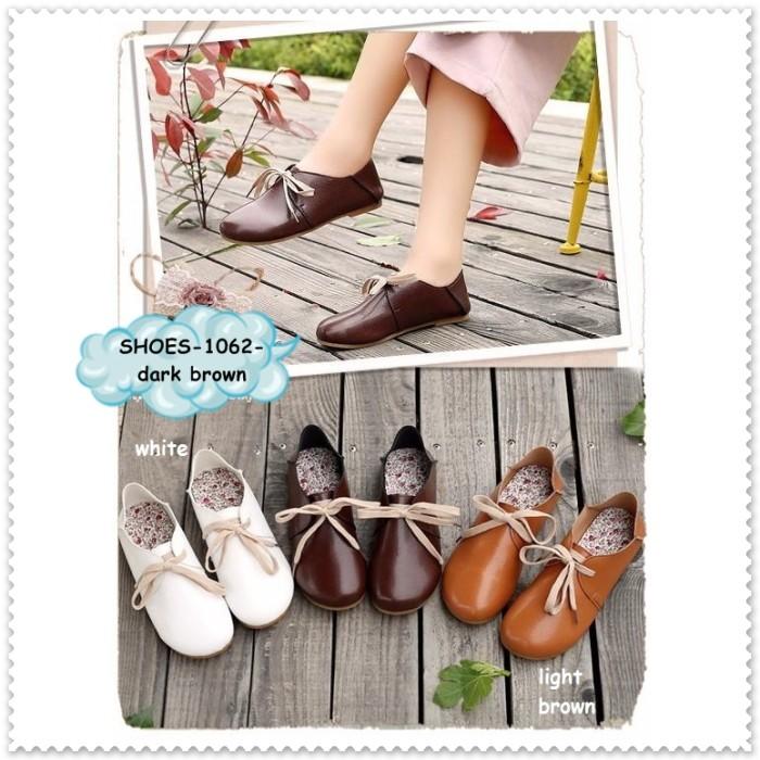 Sepatu sandal selop flat shoes heel heels wanita cewek import korea