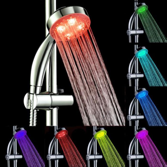 harga Kepala shower mandi led 7 warna lampu (gagang hand shower) Tokopedia.com