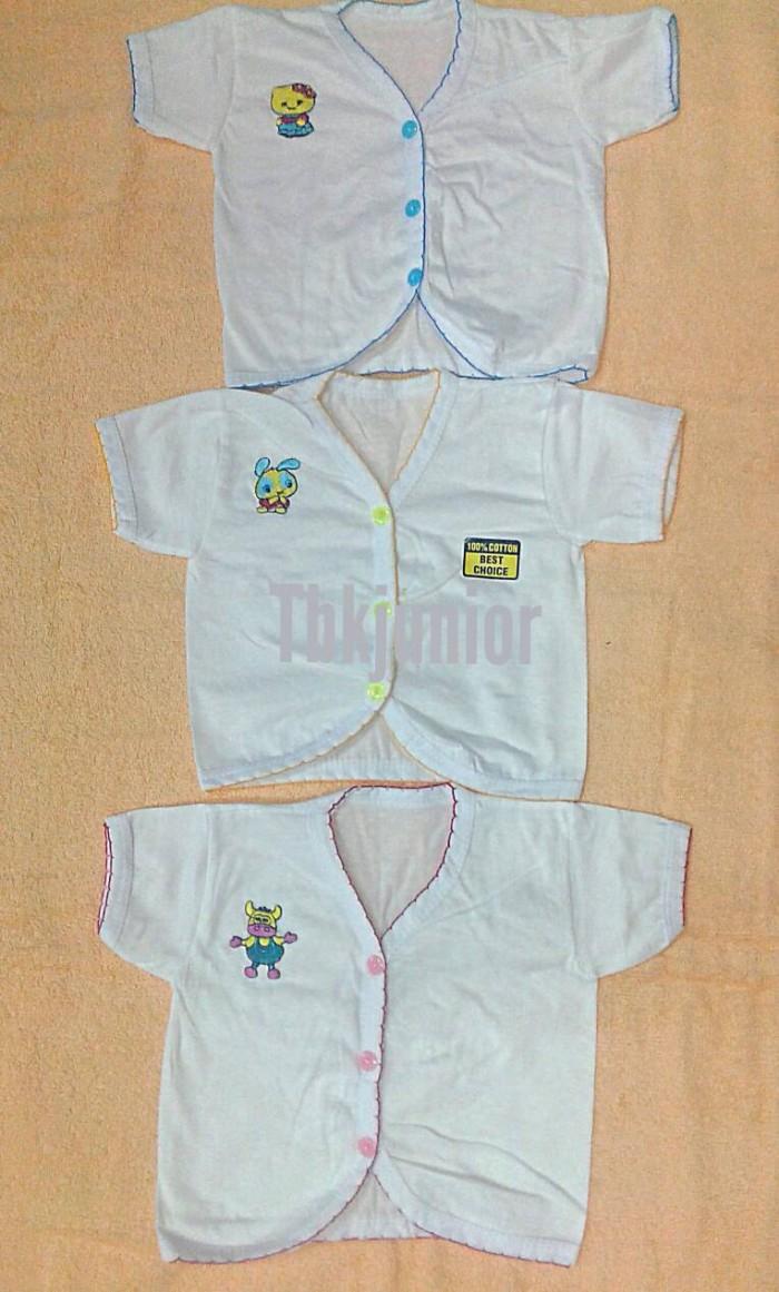 Baju atasan bayi baru lahir/new born lengan pendek