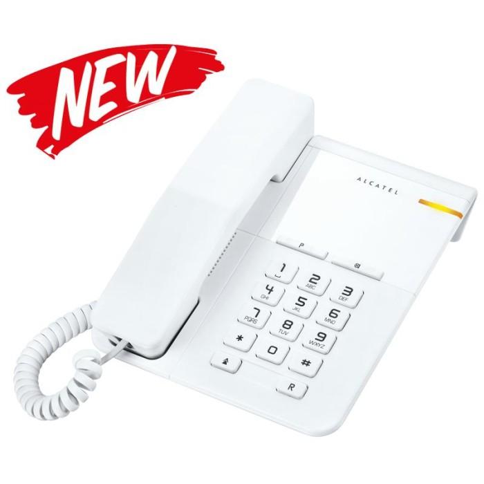 harga Alcatel t22 telepon rumah single line analog dengan led Tokopedia.com