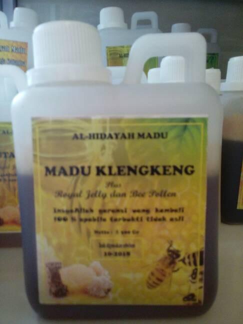 harga madu klengkeng plus royal jelly dan bee pollen Tokopedia.com