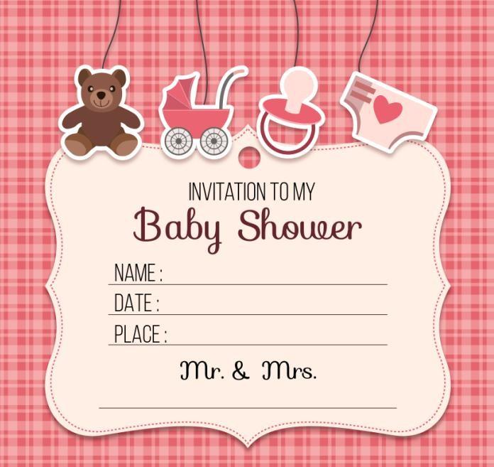 Jual Undangan Invitation Card Baby Shower Birthday Anak Ulang Tahun 1 Pak Jakarta Pusat Tutu Package Tokopedia