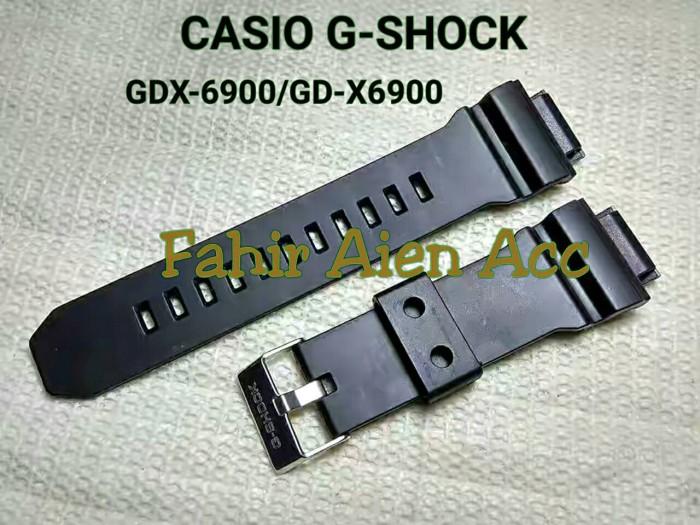 harga Strap tali jam tangan casio g-shock gdx-6900 gd-x6900/tali jam g-shock Tokopedia.com