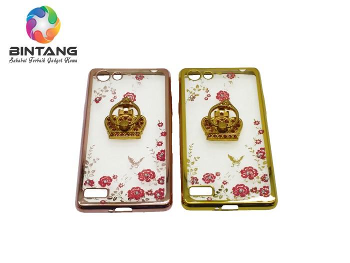 harga Jelly flower diamond plus crown ring oppo neo 7/a33t Tokopedia.com
