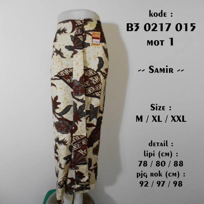 Jual rok batik span panjang B30217015   bawahan batik kebaya M XL ... d407810d62