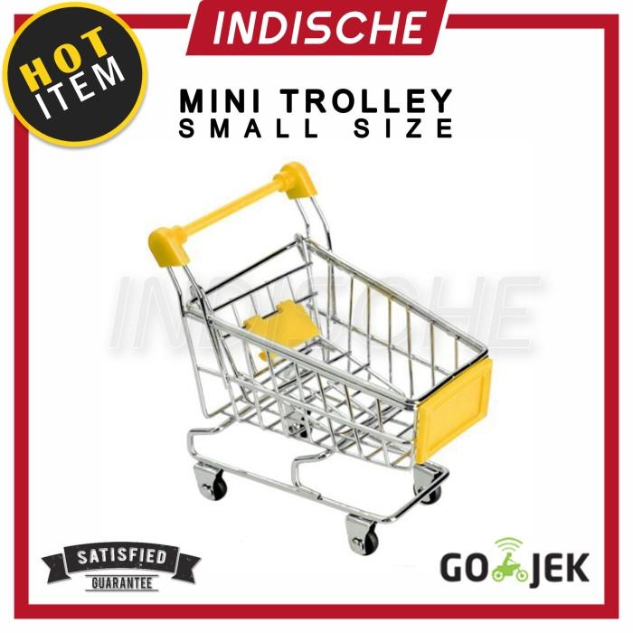 harga Mini trolley / miniatur troli / keranjang belanja shopping cart small Tokopedia.com