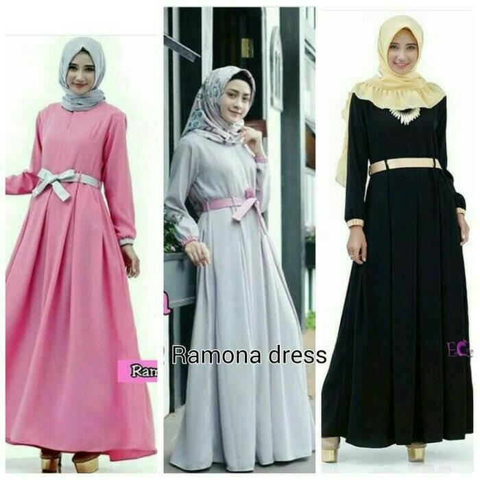 Jual Maxi Sederhana Butik Hijab Bunda