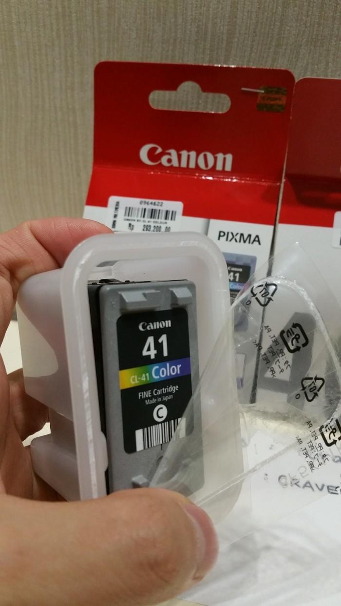 Jual Cartridge Bekas Canon Cl 41 Warna Original Asli 100 Dari Baru Colour