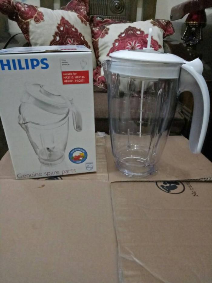 harga Gelas blender philips hr 2061/2071/2115/2116 original (+tutup sendok) Tokopedia.com