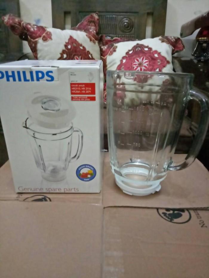harga Gelas kaca blender philips hr 2061/2071/2115/2116 original Tokopedia.com