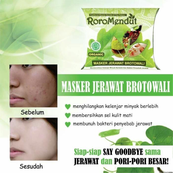 RORO MENDUT/ RoroMendut - Masker Jerawat Brotowali