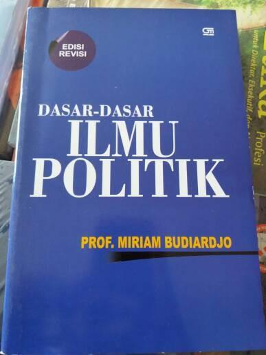 Buku Dasar Dasar Ilmu Politik Prof Miriam Budiardjo Pdf