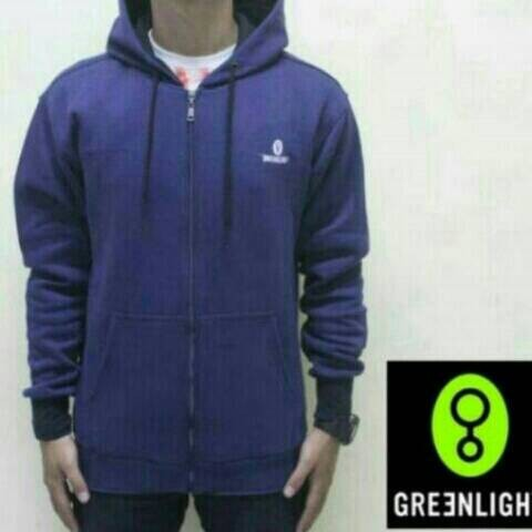 grosir jaket,switer grlt,tshirt hoodie zipper greenlight navy