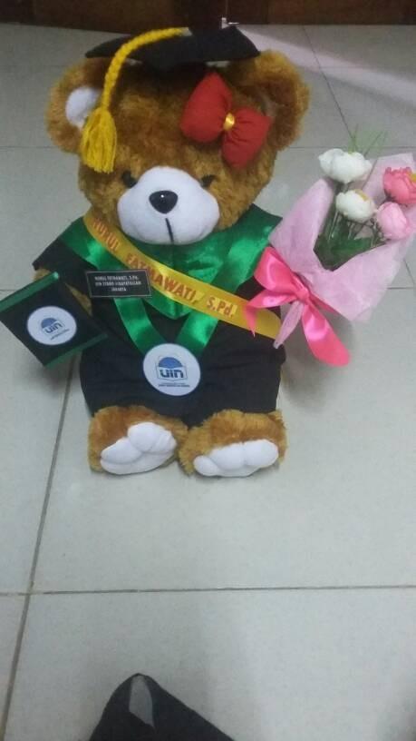 Jual Boneka Wisuda Teddy Bear Lengkap Kado Romantis Couple Unik Lucu Kab Demak Matahari Store Tokopedia