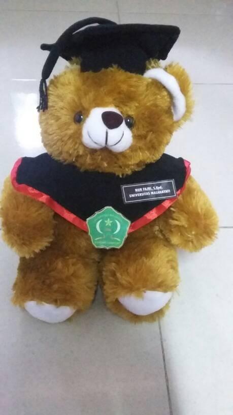 Jual Boneka Wisuda Teddy Bear Kado Romantis Couple Graduation Unik Lucu Kab Demak Matahari Store Tokopedia