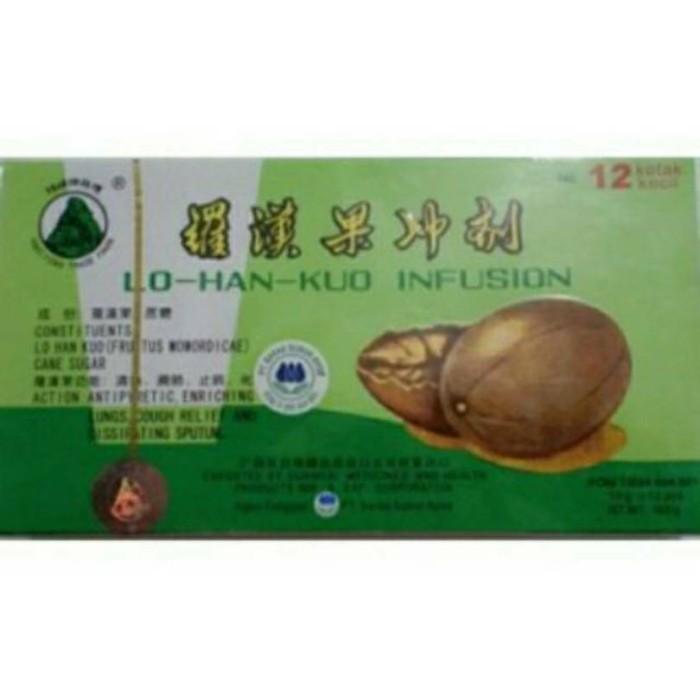 harga Lo han kuo infusion (obat herbal china Tokopedia.com