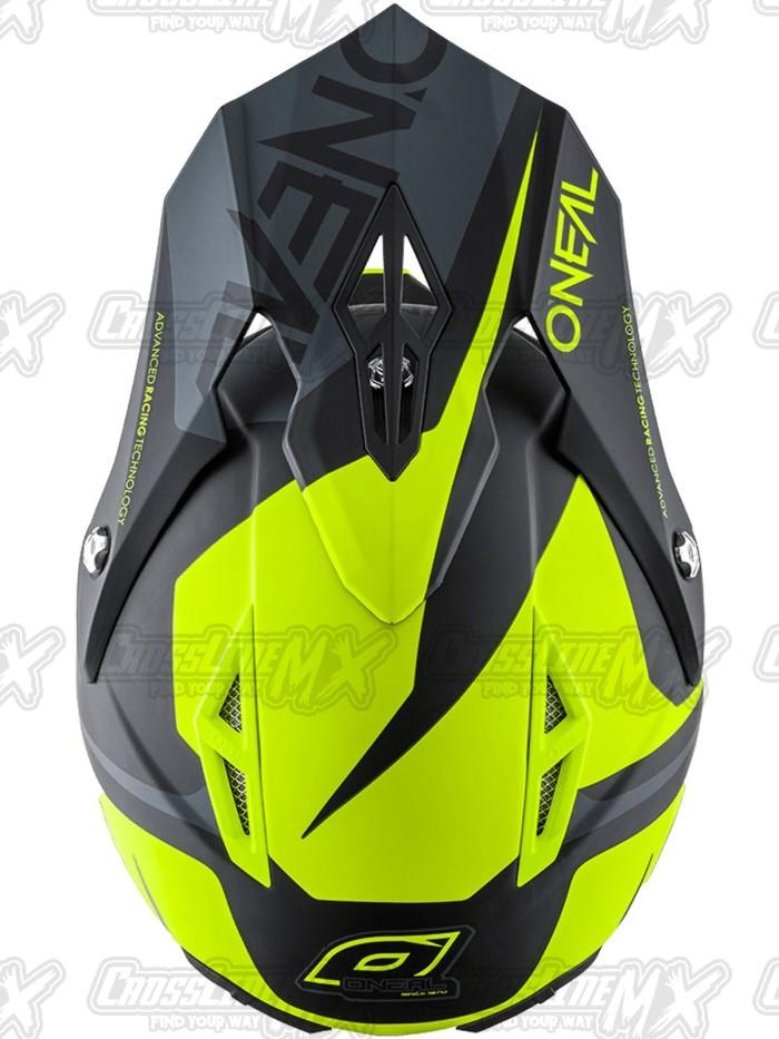 Helm Cross Oneal 10 Series Flow Black Neon / HELMET O'NEAL 2