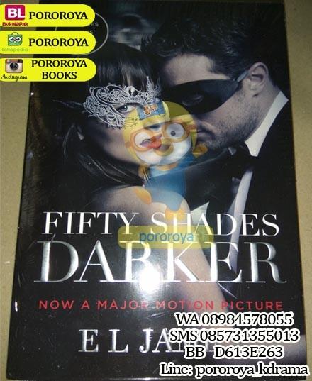 harga Novel fifty shades darker movie cover (sequel fifty shades of grey) Tokopedia.com