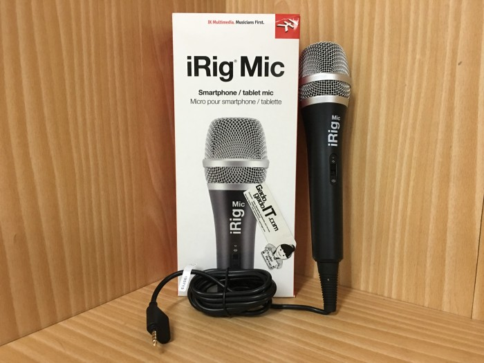 harga Ik multimedia irig mic/microphone smartphone/tablet for ios & android Tokopedia.com