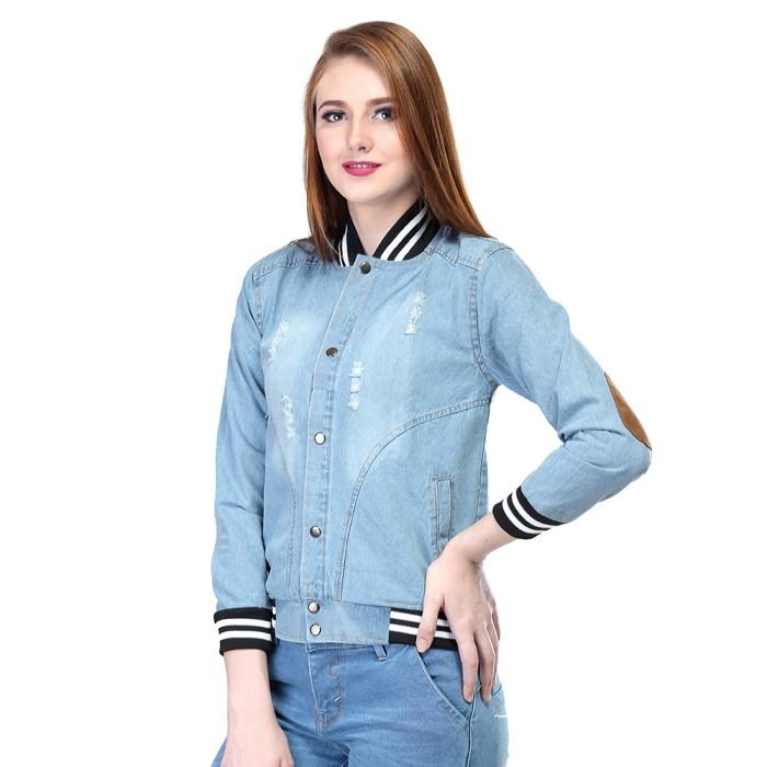Jual jaket jeans wanita 4322b89fc3