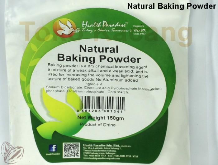 NATURAL BAKING POWDER (150gr)